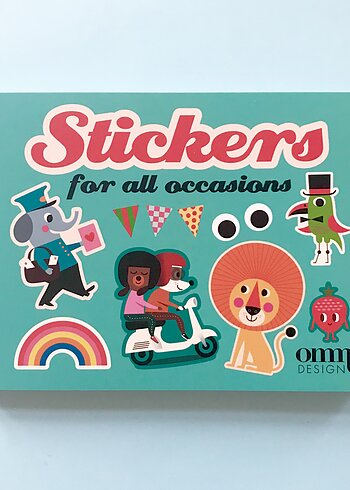 Sticker Book - Ingela P. Arrhenius