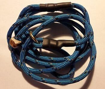 Reflexkoppel c:a 140 cm blått