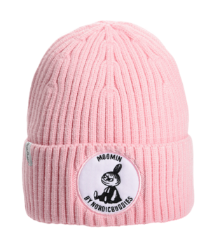 Moomin Winter Hat Beanie - Adult - Little My - Pink