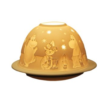 Moomin Starlight Tealight - Moominvalley residents