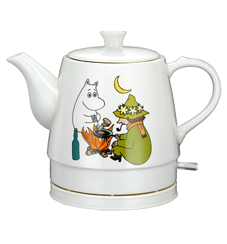 Moomin Kettle - Moomintroll & Snufkin (Ceramic)