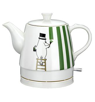 Moomin Kettle - Moominpappa & Moomintroll (Ceramic)