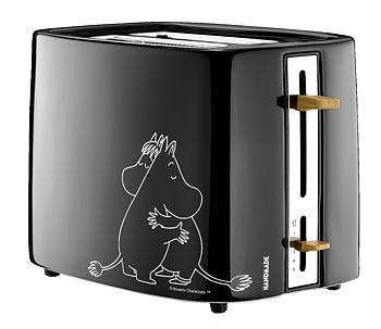 Moomin Toaster - Moomintroll & Snorkmaiden - Black (Ceramic)