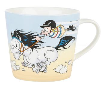 Hästen Mulle Mugg - Glädjesprång