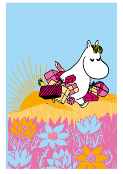 Double Moomincard + Envelope
