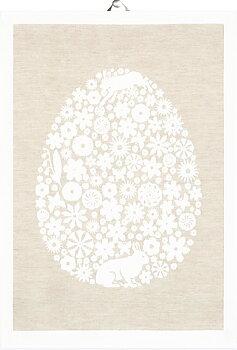 Kökshandduk - Påsk - Påskägg (Ekelund Linneväveri)