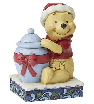 Nalle Puh Figurin - Christmas
