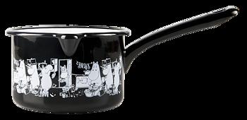 Moomin Enamel Sauce Pan, 0,8  L