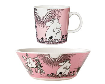 Package Price - Arabia - Moomin - Love - Mug + bowl