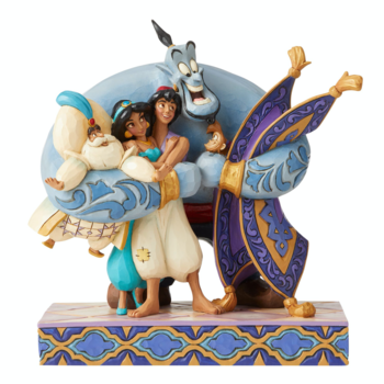 Aladdin Figurin - Group Hug