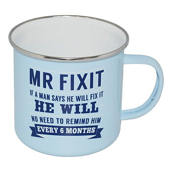 Retro Mugg - Emalj - MR FIXIT