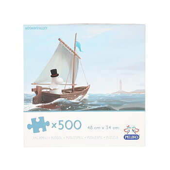Moomin Puzzle Moomin Valley - Moominpappa - 500 Pieces
