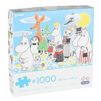 Moomin Puzzle Summer Day - 1000 Pieces