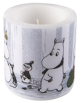 Moomin Candle - Winter Trip 8 cm
