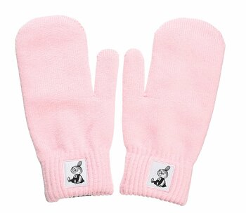 Moomin Mittens - Adult - Little My - Pink
