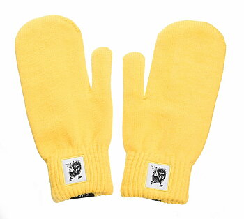Moomin Mittens - Adult - Stinky- Yellow
