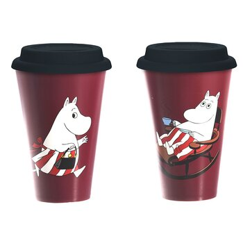 Moomin Take Away mug - Moominmamma´s Day
