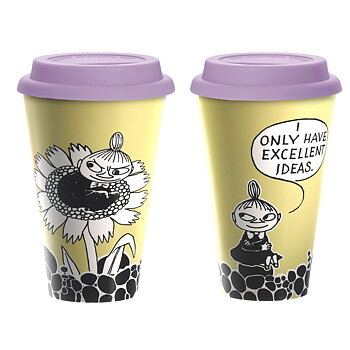 Mumin Take Away Mugg - Lilla My