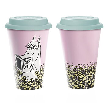 Moomin Take Away mug - Snorkmaiden´s Poems
