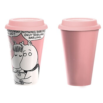 Mumin Take Away Mugg - Darling Darling