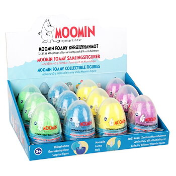 Mumin Foamy Collectible Figures