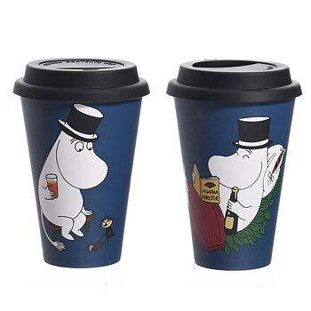Moomin Take Away mug - Moominpappa´s Holiday