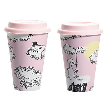 Moomin Take Away mug - Floating on clouds