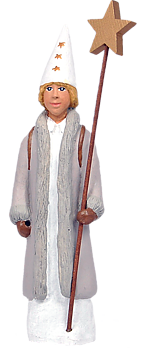 Stjärngosse Erik - Figurin - 20 cm -  Erkers Marie Persson