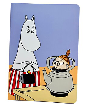 Moomin Notebook - Moominmamma & Little My