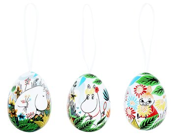 Moomin Decoration Eggs - Tin