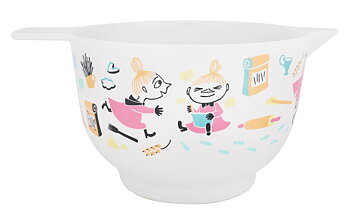 Moomin Bowl 1,9 Liter - Little My baking - Pastell
