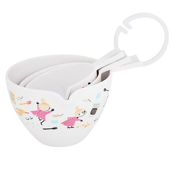Moomin Measuring Bowls 3 pcs - Little My baking - Pastell
