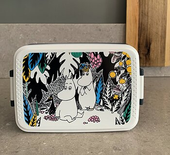Moomin Lunch Box - Djungle - Grey