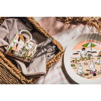 Package Price - Arabia - Moomin - Together 2021 - Mug, plate + spoons