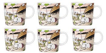 Arabia Moominmugs - Together 2021 - Package price - 6-pack