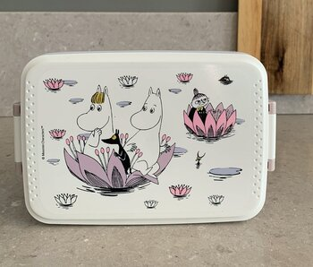 Moomin Lunch Box - Djungle - Purple/Pink