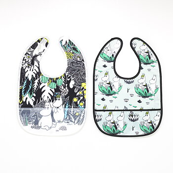 Moomin Bibs 2-Pack - Djungle