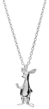 Moomin Silver Necklace, SNIFF (Saurum Moomin Collection)