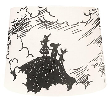 Moomin Lamp Shade - The Storm - 20 cm
