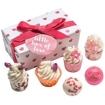 Badprodukter i presentask - Little Box of Love (6-Pack)