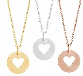 Halsband - Hjärta - Nordahl Jewellery