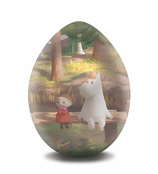 Moomin Easter Egg - Bridge