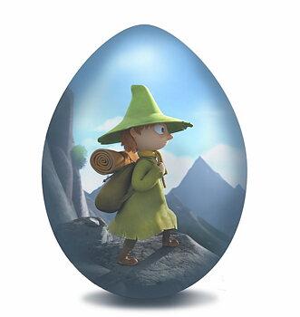 Moomin Easter Egg - Snufkin