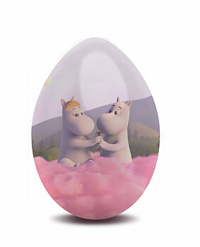 Moomin Easter Egg - Pink Clouds