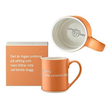Astrid Lindgren Citat Mugg - Det är ingen ordning på allting och man hittar inte vartenda dugg