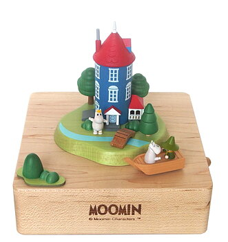 Moomin Mechanical Music Box - Moominvalley