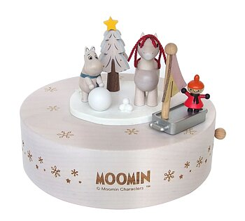 Moomin Mechanical Music Box - Winter