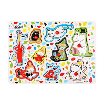 Moomin Baby Puzzle - White