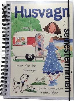 Anteckningsbok - Semesterminnen - Husvagn