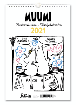 Moomin Family Calendar Year 2021